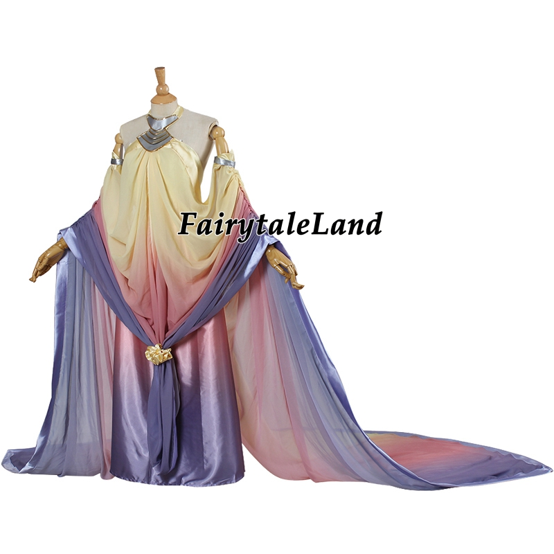Star Wars 3 Revenge Of The Sith Cosplay Padme Amidala Costume Dress Halloween