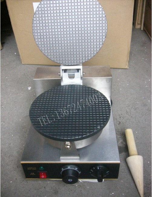 Free shipping 110v 220v Electric Ice Cream Cone Maker Cone Baker