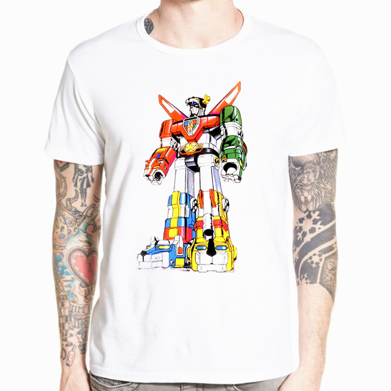 Voltron Defenfer Of The Universe Sigil Cartoon Asian Size T-shirt Short sleeve O-Neck Tshirt For Men And Women HCP4441