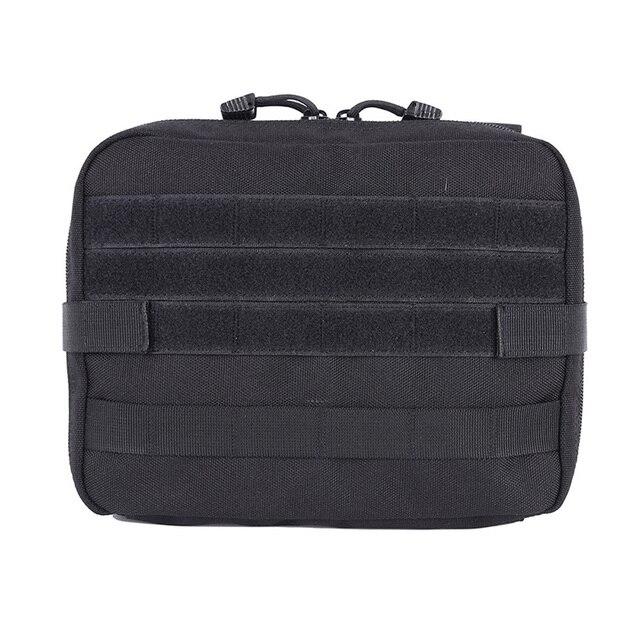 Esportes ao ar livre Militar MOLLE Administrador Bolsa Tactical Bolsa de Multi Kit Sacos Médicos Saco Utilitário Bolsa Para Camping Caminhadas Caça