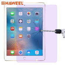 HAWEEL 0.33mm 9H 2.5D Anti Blue-ray Explosion-proof Tempered Glass Film for iPad 9.7 (2018)/(2017) & Pro 9.7 & Air 2 & Air цена