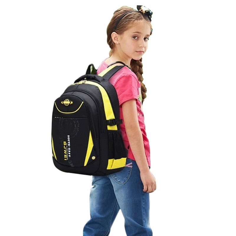 2d6277327 BAIJIAWEI New Children School Bags For Girls Boys Children Waterproof  Backpack In Primary School Backpacks Mochila Infantil Zip-in Backpacks from  Luggage ...