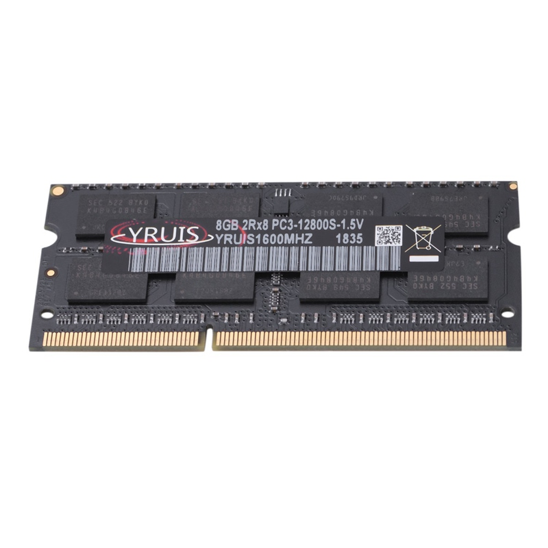 HOT-Yruis <font><b>Ddr3</b></font> <font><b>8Gb</b></font> 1600Mhz Ram Sodimm Laptop Memory Support <font><b>Ddr3</b></font> Notebook image