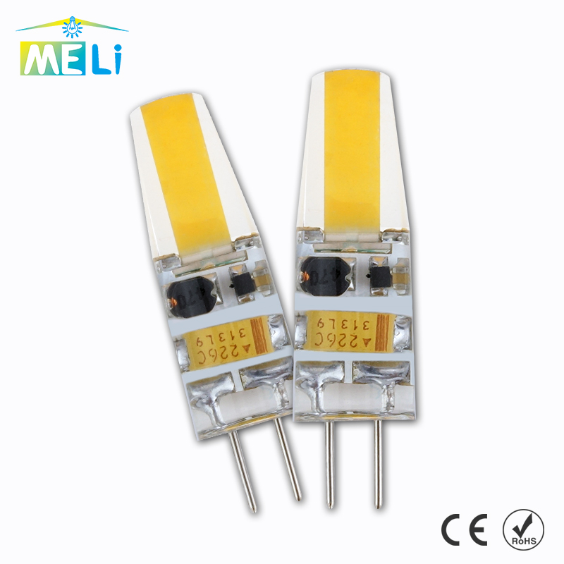 Mini G4 LED Lamp COB LED Bulb 6W DC/AC 12V LED G4 COB Light Dimmable 360 Beam Angle Chandelier Lights Replace Halogen G4 Lamps(China (Mainland))