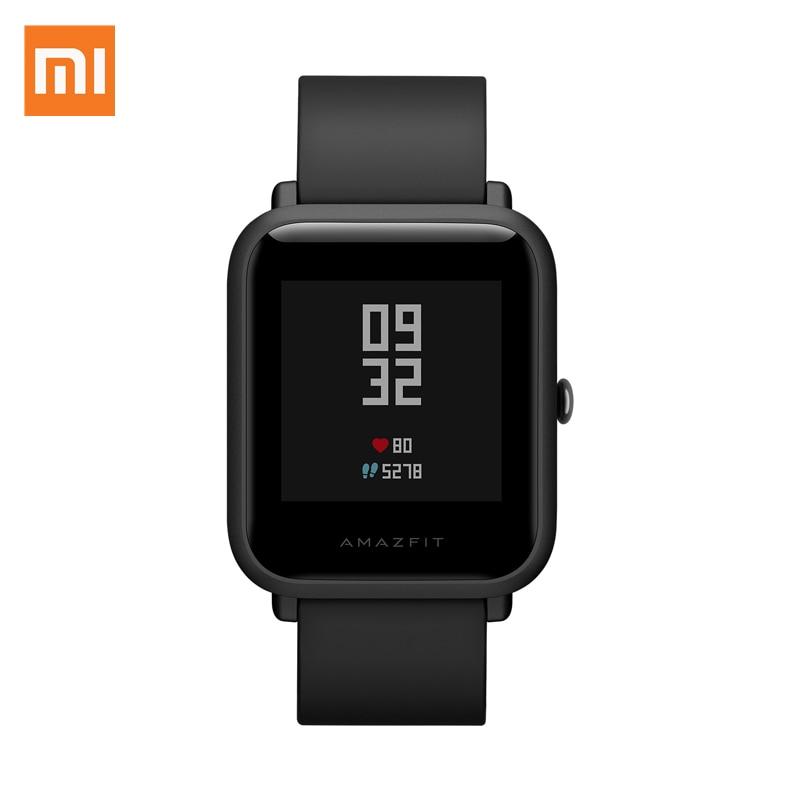 Xiaomi Bip Youth Version Smart Watch GPS Glonass PGG Heart Rate Monitor IP68 Waterproof Compass Sleep