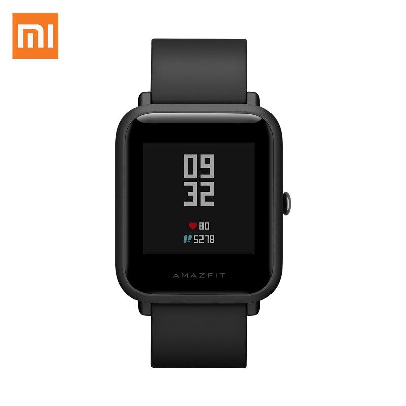 Xiaomi Bip Jugend Version Smart Uhr GPS + Glonass PGG Herz Rate Monitor IP68 Wasserdicht Kompass Schlaf Tracker Sport Sensor-in Smart Watches aus Verbraucherelektronik bei AliExpress - 11.11_Doppel-11Tag der Singles 1