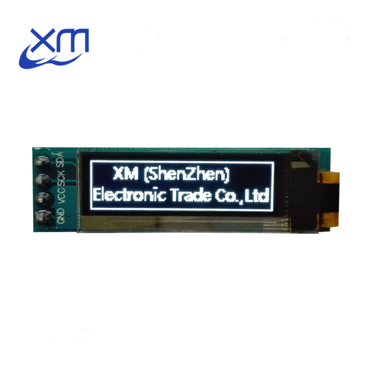 "Image 3 - 10 pièces 0.91 pouces O LED module 0.91 ""blanc O LED 128X32 O LED écran LED lcd Module 0.91"" IIC Communiquer D24-in Affiches LED from Composants électroniques et fournitures on AliExpress"