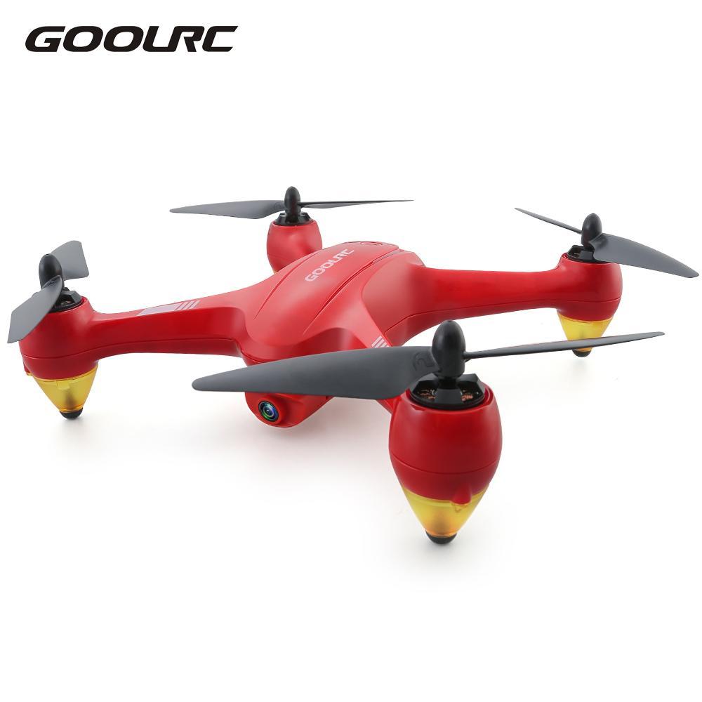 цена на GoolRC Binge 1 2.4G 4CH 1080P HD Camera Wifi FPV Brushless GPS RC Quadcopter Selfie One-key Return Altitude Hold Drone