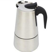 New 2/4/6/9 Cups Stainless Steel Coffee Maker Latte Percolator Moka Pot Espresso Stove Top Pot Portable Automatic Machine
