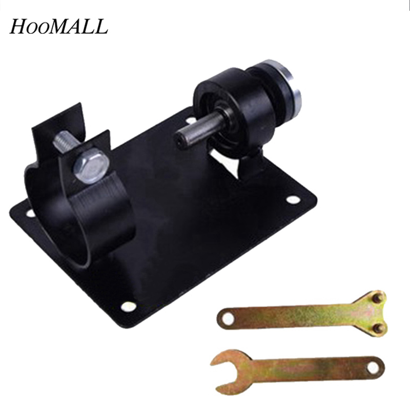 Hoomall Electric Drill Cutting Seat Stand Machine Bracket Tools Set Fit For Angle Grinder Accessories Polishing Cutting 10/13mm hoomall angle grinder dedicated cutting seat stand machine bracket rod table cover shield safety woodworking tools accessories
