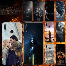 Phone Case For Huawei Y6 Y7 Y9 Y5 Y3 Pro Prime 2019 2018 2017 Y6II Y5 II P Smart Plus 2019 2018 Game Of Thrones Seasons 8 Cover(China)