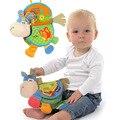 Bebé juguete de bebé libro animal toys muñecas de trapo desarrollo kids learning educational toys para niños juguete de regalo de navidad to35