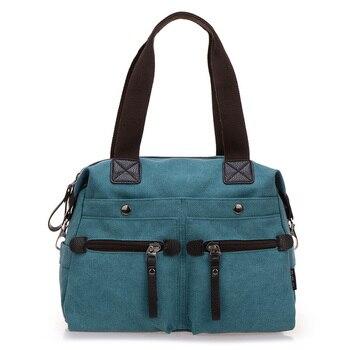 Women Messenger Bag Canvas Shoulder Bag Vintage Tote Sac Female Handbags Dollar Price Top-Handle Crossbody Bags shoulder bag