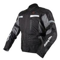 Зимняя мотоциклетная куртка путешествия Светоотражающие Protector Мотокросс Body Armor Защита Гонки куртка Костюмы защитный Шестерни