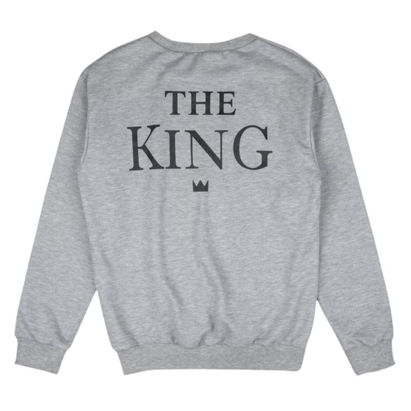 Fashion Couples Sweatshirts Print KING QUEEN Long Sleeve Hoodies Lovers  Sweatshirt Men and Women Pullovers S3-in Hoodies & Sweatshirts from Women's  Clothing ...