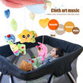 Free shipping Infant aged 0 Toy starlight dream baby music bed bell luminous rotating fluid ToyB19-1/B19-2