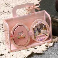 FAI DA TE Casa Delle Bambole Mobili In Miniatura di Legno Casa di Bambola Miniaturas Scatola Theatr Giocattoli per I Bambini Regali di Compleanno Casa di Semi Del Mondo R2