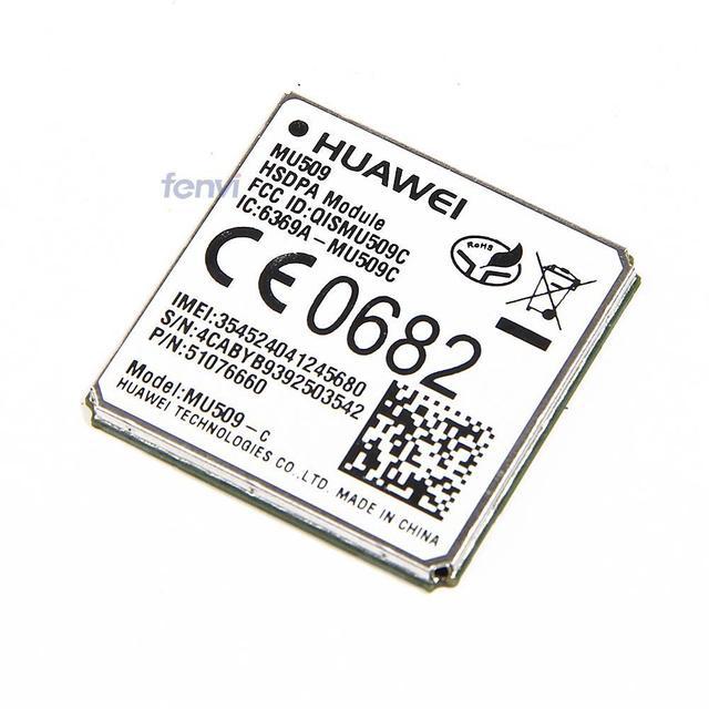 Huawei alta velocidade de 3 G módulo MU509-C UMTS / HSDPA 850/1900 MHz WCDMA HSPA + LTE GSM / GPRS / EDGE / WCDMA rede wi fi sem fio placa wwan