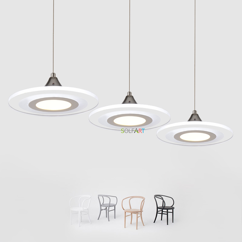 Modern Led Pendant Lights Cord Lamp Dining Room Lustres 90-260v Chandelier CE UL For Kitchen Hang Fixtures