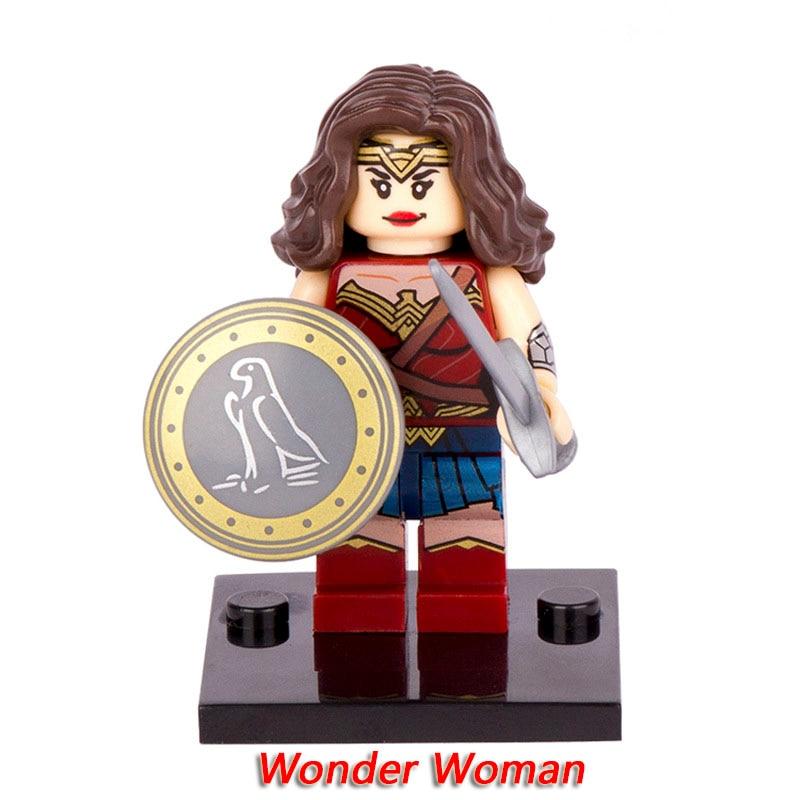 XH222 Wonder Woman Single Sale Figures DC Super Heroes Batman vs Superman Building Blocks Models Building