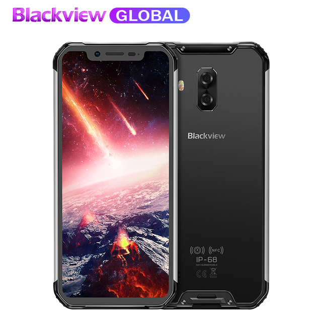 "Pre-sale Blackview BV9600 pro Rugged IP68 Waterproof mobile phone 6.21""inch Smartphone 6GB RAM 128GB ROM MT6771 5580mAh"