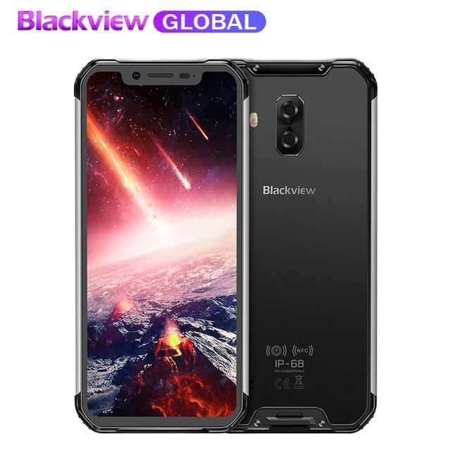 """Pre-sale Blackview BV9600 pro Rugged IP68 Waterproof mobile phone 6.21""""inch Smartphone 6GB RAM 128GB ROM MT6771 5580mAh"""