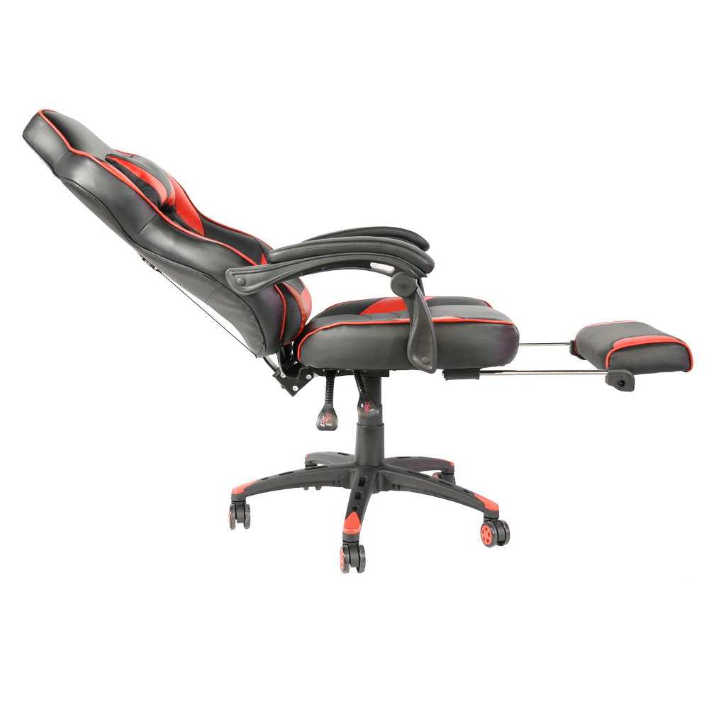 Chair-C-Type Footrest Swivel Foot-Racing-Chair Office With Black Red Foldable Foldable