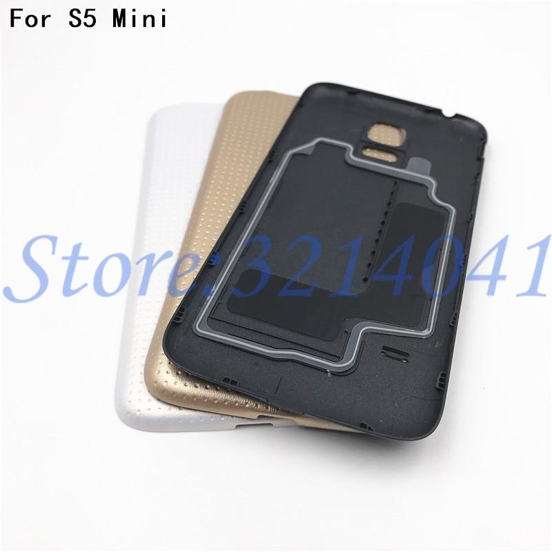 Original Nouveau S5 mini Batterie Logement De Couverture Arrière Pour Samsung Galaxy S5 mini G800 G800F Batterie Back Door Cas