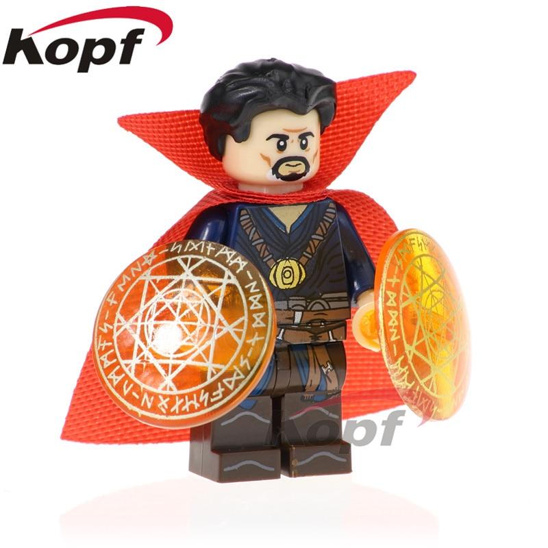 PG1570 Super Heroes Doctor Strange Ebony Maw War Machine Building Blocks Bricks Figures Action Education For Children Gift Toys