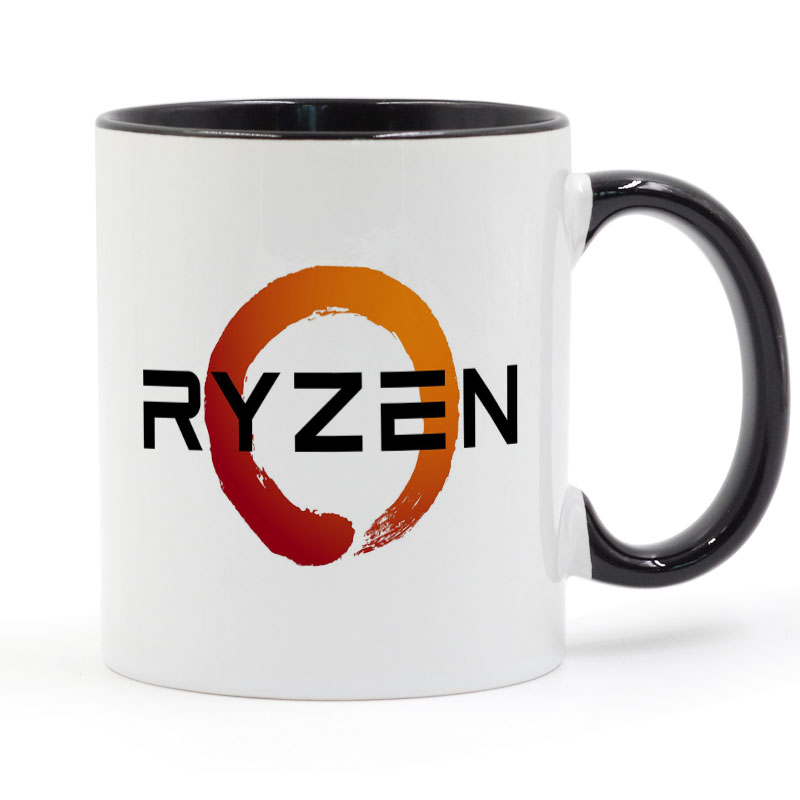 PC CPU Uprocessor AMD RYZEN Mug Coffee Ceramic Cup Creative DIY Gifts Home Decor Mugs 11 ...