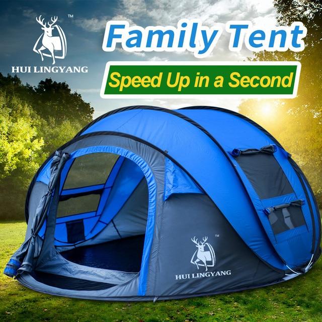 HUILINGYANG Tent Quick Open Camping 10
