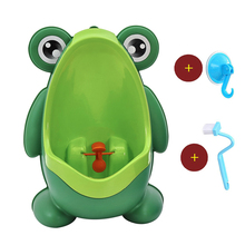 Baby Toilet Frog Kids Boy Toilet Pee Wall-Mounted Baby Boy Potty Toilet Training Frog Children Stand Vertical Urinal Boy Pot