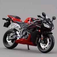 نماذج النارية cbr 600rr الأحمر 1:12 سبيكة معدنية دييكاست نماذج السيارات سباق الدراجة مصغرة لعبة هدية مجموعة
