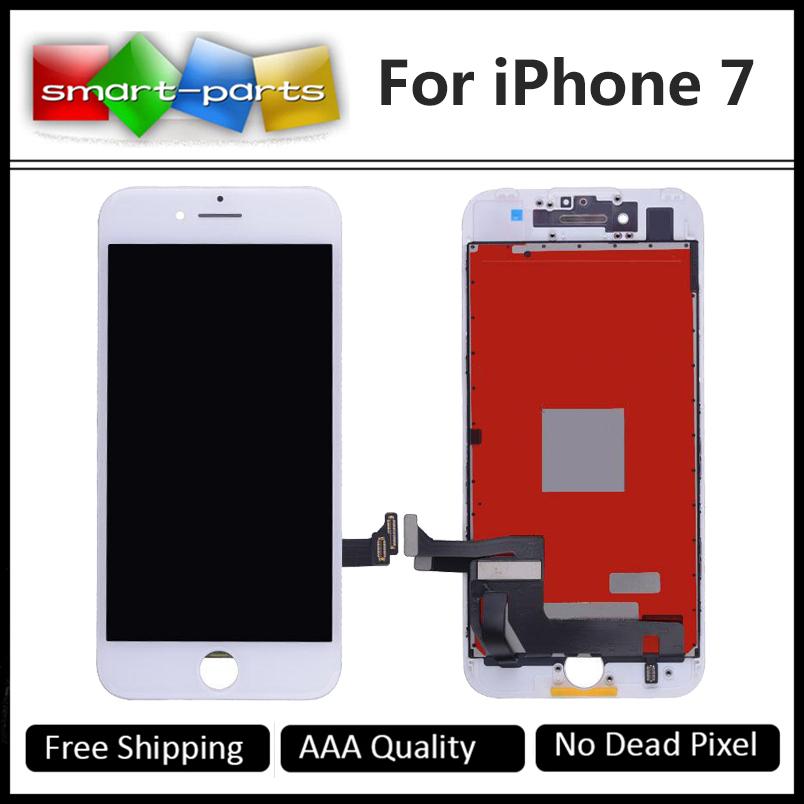Prix pour Grade aaa tianma lcd 4.7 pouce pour apple iphone 7 Écran lcd Avec Écran Tactile Digitizer Assemblée Remplacement Bon 3D tactile