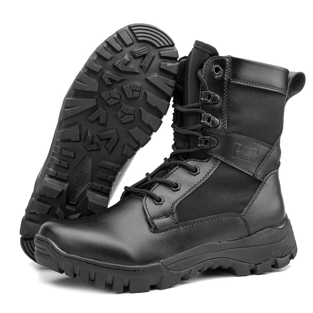 Respirant Bottes Militaires Extérieur Noir Chaussures De Sécurité Pour Hommes Bottines Hombre Force Spéciale D'entraînement Trekking Chaussures 921 - 4