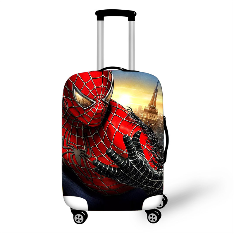 18-32 Inch Super Hero Spideman Luggage Cover Suitcase Protective Covers Elastic Anti-dust Case Cover Trolley