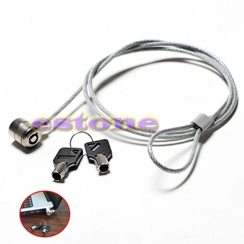 High Quality Notebook Laptop Computer Lock Security Security China Cable Chain With 2 Key Brand New 1