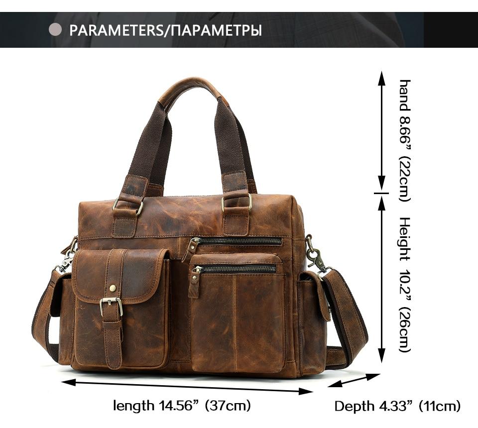 HTB1M1bRX2vsK1Rjy0Fiq6zwtXXap MVA Genuine Leather Men's Briefcase Messenger Bag Men's Leather Laptop Bag For men Office Bags For Men Briefcase Handbags 8537