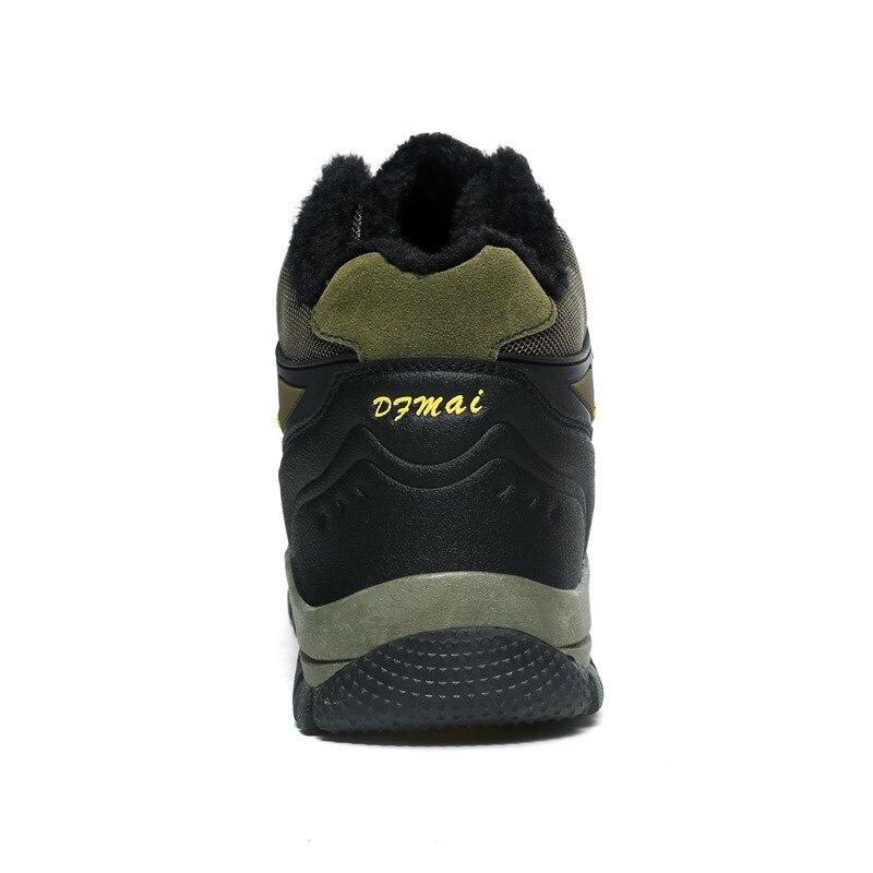 Eur39 Vulcanisé Sneakers Code 48 Grand Personnalisé Mingpinstyle gris noir Beige Courte Chaussures Épaississement Peluche Chaud Hommes Haute Hiver p1pXOqU