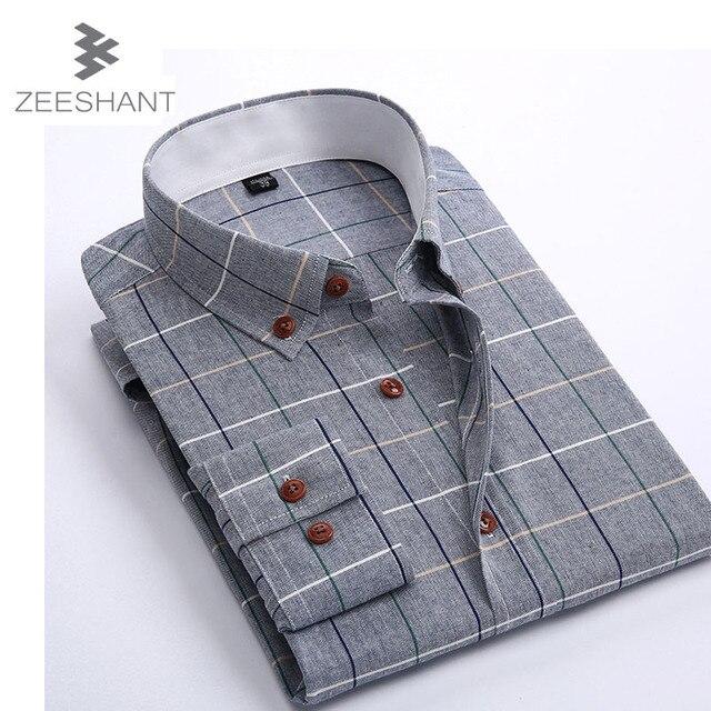 Camisa Cuadros Hombre Ropa de Marca Camisas de Vestir Camisa A Cuadros Slim Fit Hombres Camisa Chemise Homme Camisa Masculina Hemden Heren