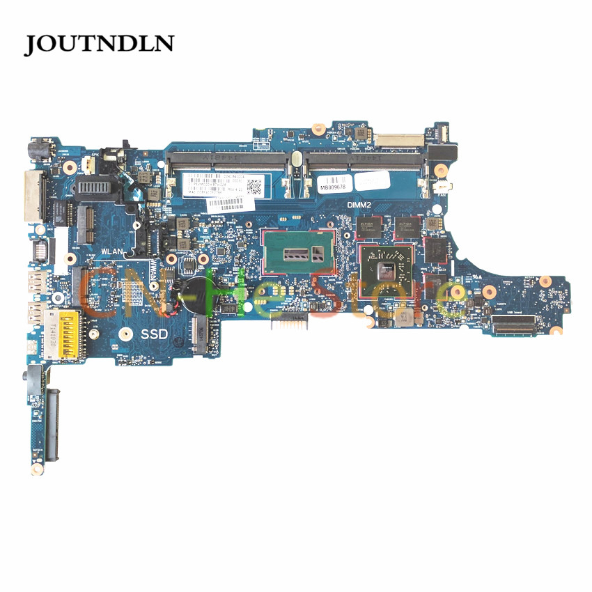 JOUTNDLN FOR HP <font><b>750</b></font> 850 G2 laptop motherboard 796888-001 6050A2637901-MB-A02 DDR3L W/ <font><b>I5</b></font>-5200U CPU and M4170 GPU image