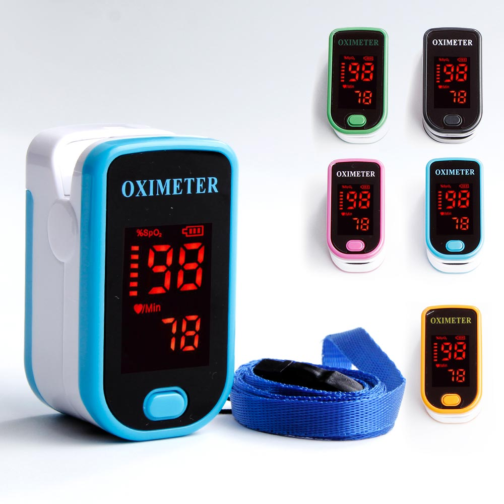 Portable Finger Oximeter Medical Equipment Digital Apparatus for Measuring Heart Beat Home Health Monitor LCD Saturometro image