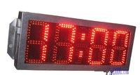 Большие размеры уличные водонепроницаемые 8 дюймов 4 цифры Красный цвет часов и минут привело часы (hot4 8r)