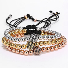 Mcllroy bracelet men/gold/rose gold/stainless steel/beads/charms/fashion/bracelets for women female handmade luxury jewelry 2019(China)
