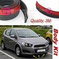 Для Chevrolet Aveo Соник/Бампер Автомобиля Губ/Body Kit/передняя/Задняя Юбка Спойлер/Бампер Отражатель Резиновые Полоски