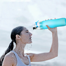 740ml Cycling Running Water Drinking Bottle Misting Spray Healthy Sports Bottles