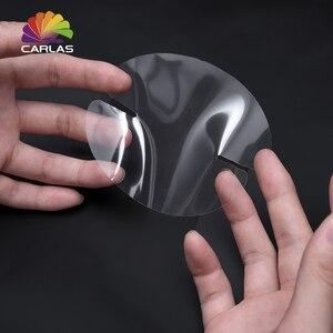 Image 3 - CARLAS 4 sztuk samochodów stylizacji samochodów naklejki niewidoczne naklejki klamka do drzwi samochodowych naklejki folia ochronna dusza akcesoria
