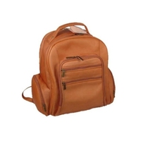 David King & Co 349 т негабаритных ноутбук рюкзак Tan