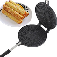 Egg Pancake Rings Egg Roll Machine Crispy Omelet Mold Baking Pan For The Waffles Cake Cooking