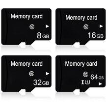 Mikro SD 64 GB 32 GB 16 GB 8 GB Flash Bellek Kartı Sınıf 10 TF Kart MicroSD Kartları için tablet telefon Kamera Dropshipping